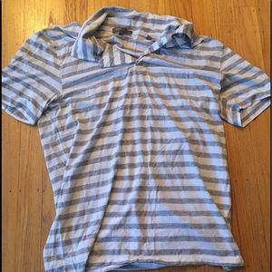 Vince women's short sleeve shirt with collar M